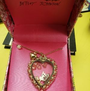 Betsey Johnson Cat 🙀 Necklace